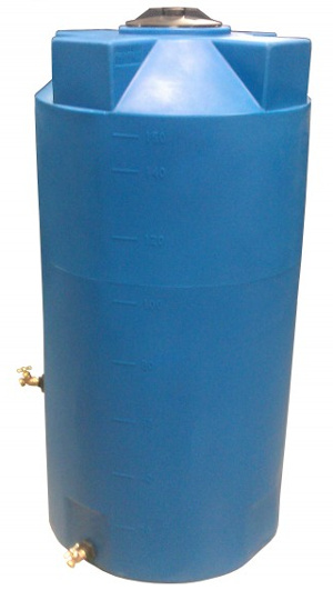 150 Gallon Bushman Formerly Poly Mart Emergency Water Storage Tank Rainwater Collection And Stormwater Management