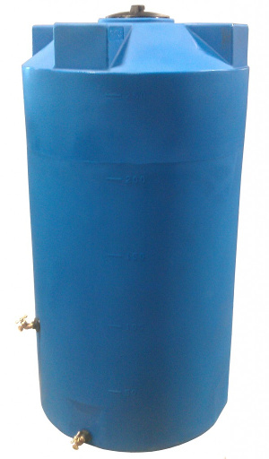 250 Gallon Bushman (Formerly Poly-Mart) Emergency Water Storage Tank