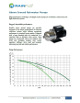 RainFlo MHP Series Pump Brochure and Instructions