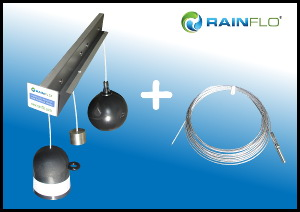 RainFlo LiquiLevel Plus Tank Level Indicator with Guide Wire