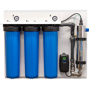 Rainflo 20 GPM Complete UV Disinfection System
