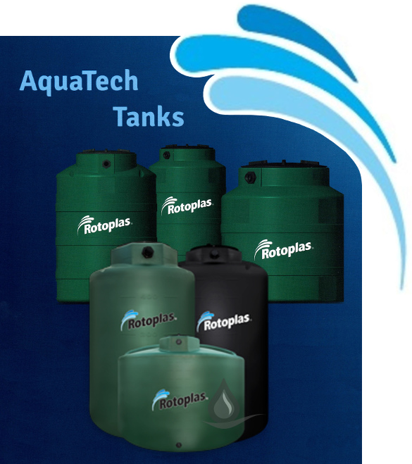 Rotoplas Tri-Layer AquaTech Water Storage Tanks