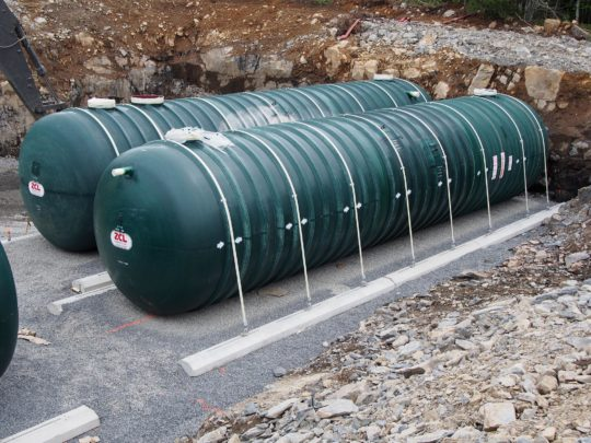 RainFlo 20,000 Gallon Fiberglass Rainwater System