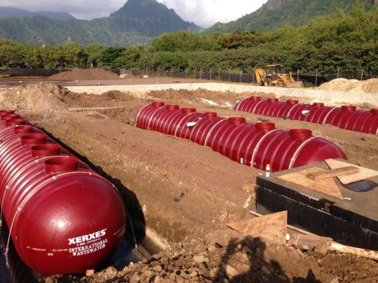 RainFlo 10,000 Gallon Fiberglass Rainwater System