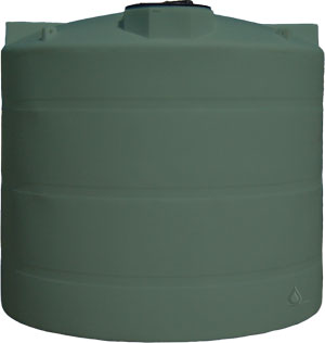 3000 Gallon Above Ground Vertical Water Tank Rainwater Collection And Stormwater Management
