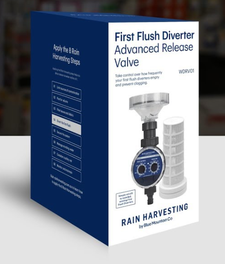 Rain Harvesting WDRV01 Advanced Release Valve Upgrade Kit for First Flush