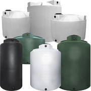 Heavy Duty Industrial Liquid Storage Tanks