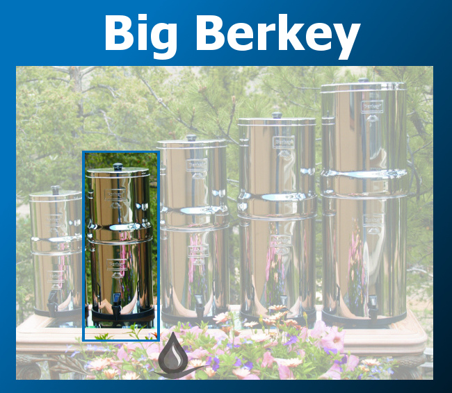 Berkey Stainless Steel Water Filter Systems