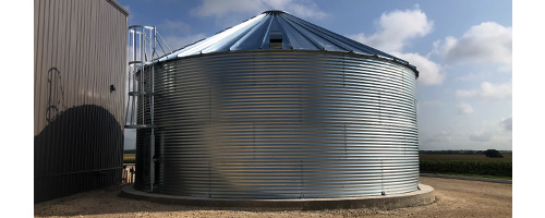 Bolted Corrugated Steel Tanks
