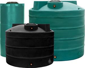 8000 Gallon Dura Cast Vertical Water Tank