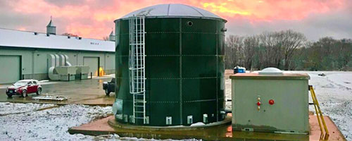 Glass Fused Steel Tanks
