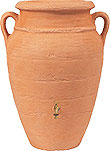 Terracotta Rainwater Collection Vase