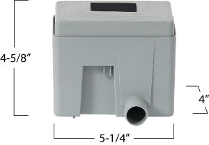 Graf Quattro Downspout Filter and Diverter