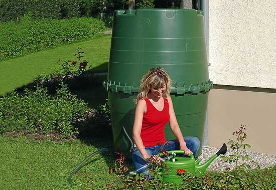 Graf Top Tank 350 gallon rainwater tank