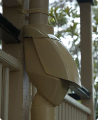 Rain Harvesting Pty Leaf Eater Ultra Downspout Filter