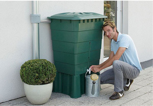 Graf Mondo 137 Gallon Rain Barrel