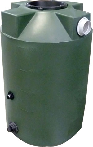 100 Gallon Poly-Mart Rain Harvesting Tank