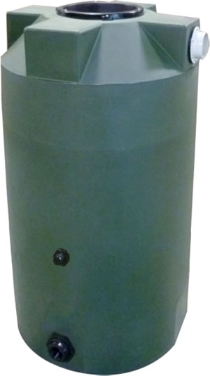 125 Gallon Bushman Formerly Poly Mart Rain Harvesting Tank Rainwater Collection And Stormwater Management
