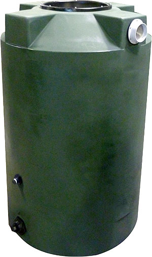 200 Gallon Poly-Mart Rain Harvesting Tank with SunShield