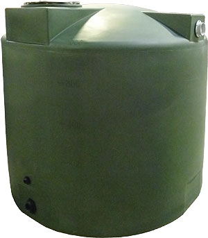 1000 Gallon Bushman (Formerly Poly-Mart) Rain Harvesting Tank