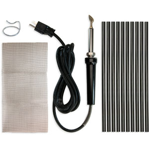 Poly Welder Pro Plastic Repair Kit - Black<br />36056