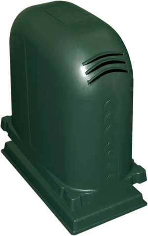 Polyslab Pump Cover - Heritage Green