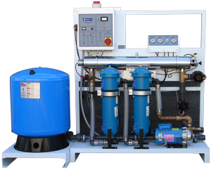 Rainflo 40 GPM Complete Pumping and UV Disinfection Skid