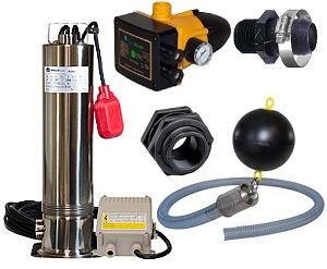RainFlo Rainwater Pump Bundle .75 HP
