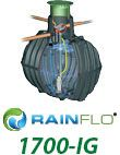 RainFlo 1700-IG Rainwater Collection System