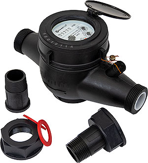 RainFlo 1 Inch Water Meter