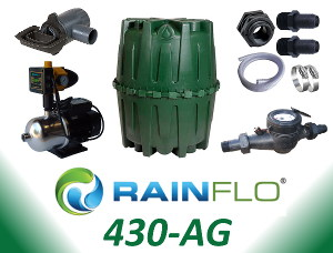 RainFlo 430-AG Rainwater Collection System
