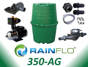 RainFlo 350-AG Rainwater Collection System