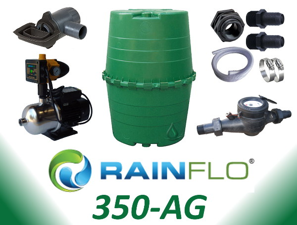 Rainflo 350 Ag Rainwater Collection System Rainwater