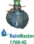 RainMaster 1700-IG Rainwater Collection System