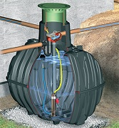 RainMaster Eco-Plus rainwater collection system