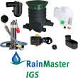 Everything you need to build your rainwater harvesting system. Tank sold separately.
