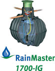 RainMaster 10K Rainwater Collection System