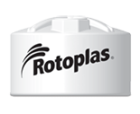 Rotoplas 1200 Gallon Vertical Industrial Storage Tank
