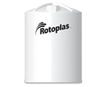 Rotoplas 12000 Gallon Vertical Industrial Storage Tank