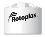 Rotoplas 1600 Gallon Vertical Industrial Storage Tank