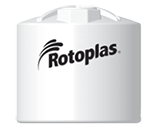 Rotoplas 2500 Gallon Vertical Industrial Storage Tank