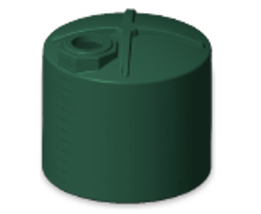 Rotoplas 2500 Gallon Vertical Water Storage Tank