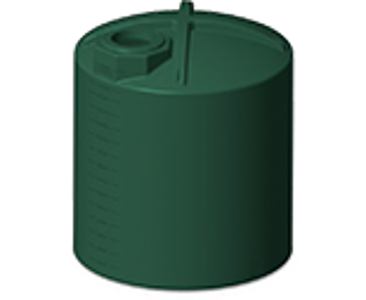 3000 Gallon Rotoplas Vertical Water Tank - Green