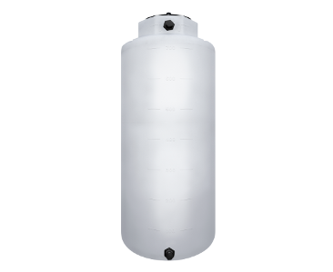 750 Gallon Rotoplas Vertical 1.5 SG Agriculture Tank - White