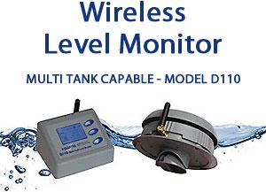 Aquatel D110 Wireless Tank Level Monitor<br />D110