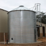 Corrugated Fire Suppression Tank