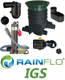 RainFlo IGS In-Ground Rainwater Collection System 1.25 HP
